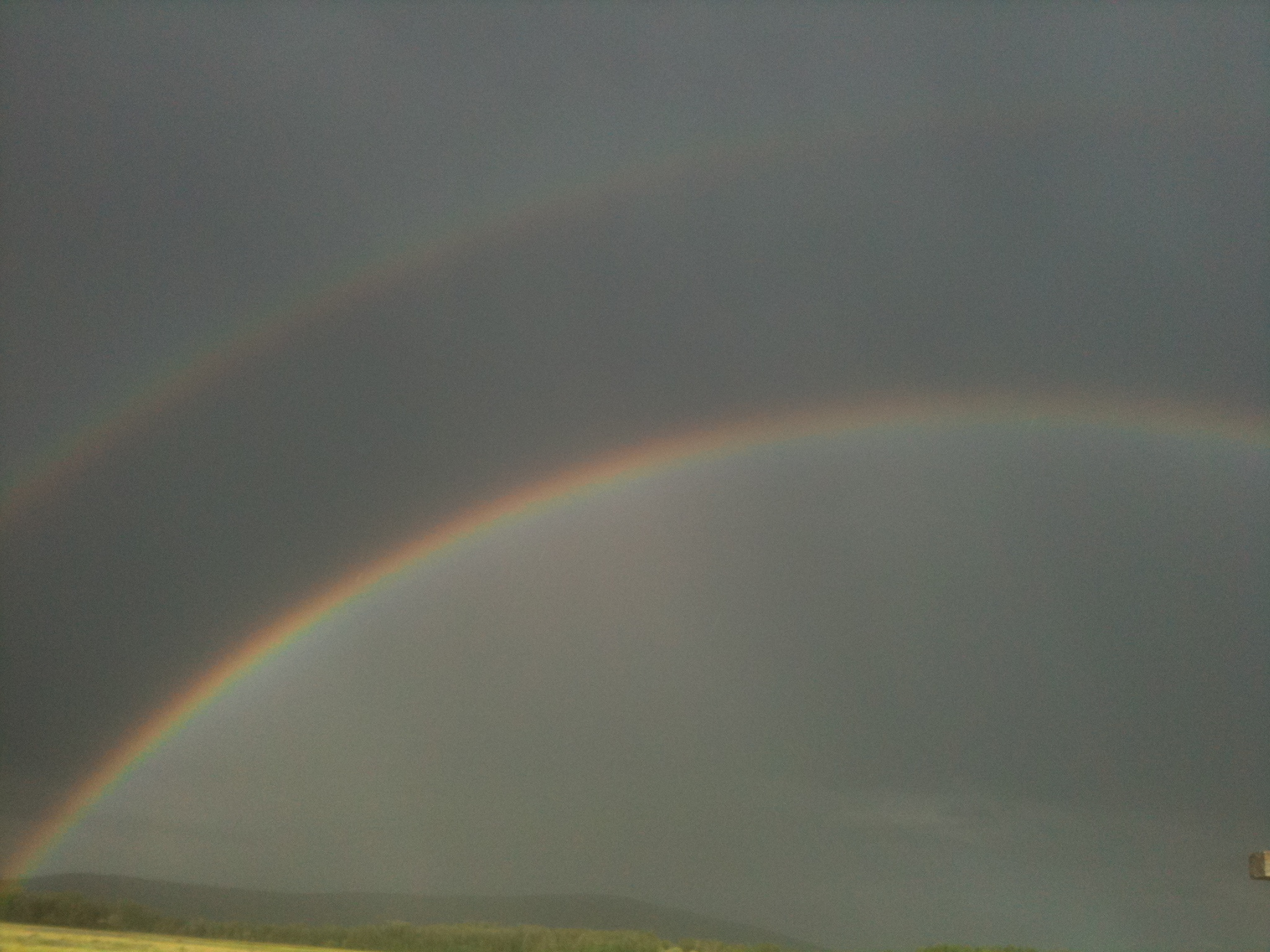 Double Rainbow Meaning Pure Glory